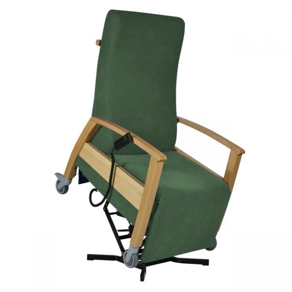 Pflegerollstuhl mit Aufstehfunktion und Relaxfunktion