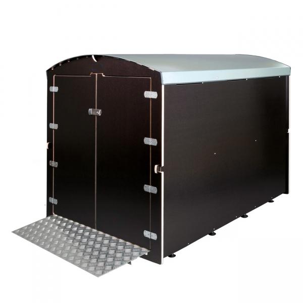 bei seeger24 finden sie xxl elektromobil garagen online sanit tshaus. Black Bedroom Furniture Sets. Home Design Ideas