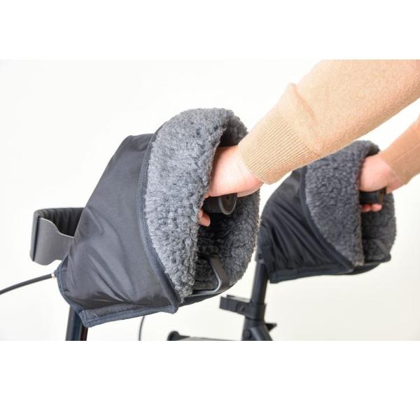 Handschuhe für Rollatoren und Rollstühle