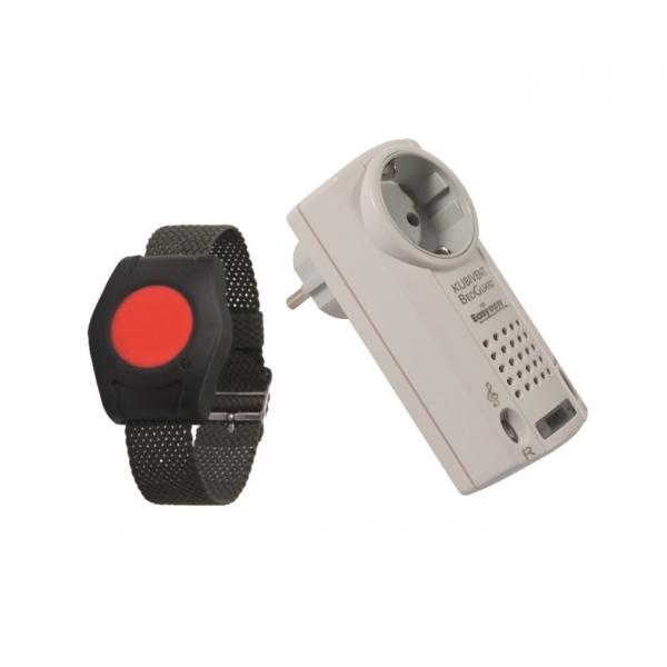Hausnotruf Set Rufmelder mit Funkgong und optischem Signal