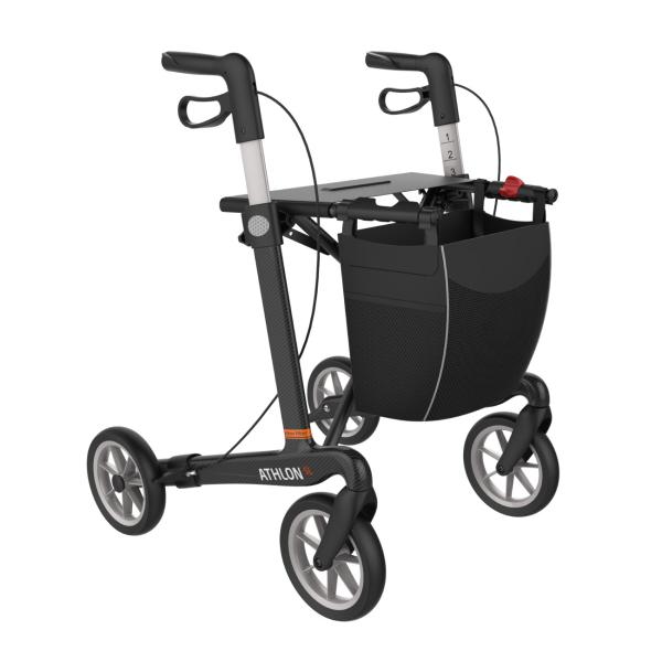 Carbon Rollator Athlon SL - mit Soft Komforträdern ab 5,4 kg