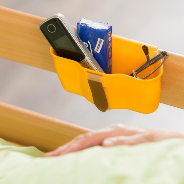 Ablageschale für Pflegebett