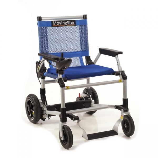 Moving Star 101 faltbarer Elektro-Rollstuhl mit Joystick-Bedienung