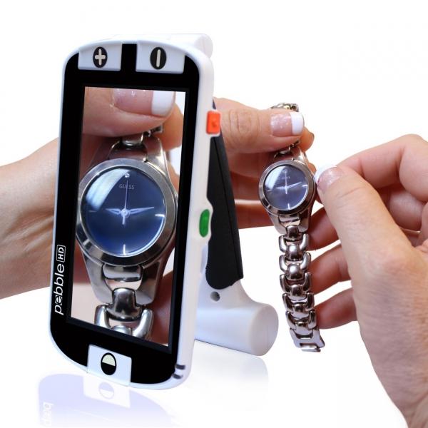 Pebble HD elektronische Lupe mit HD-Kamera