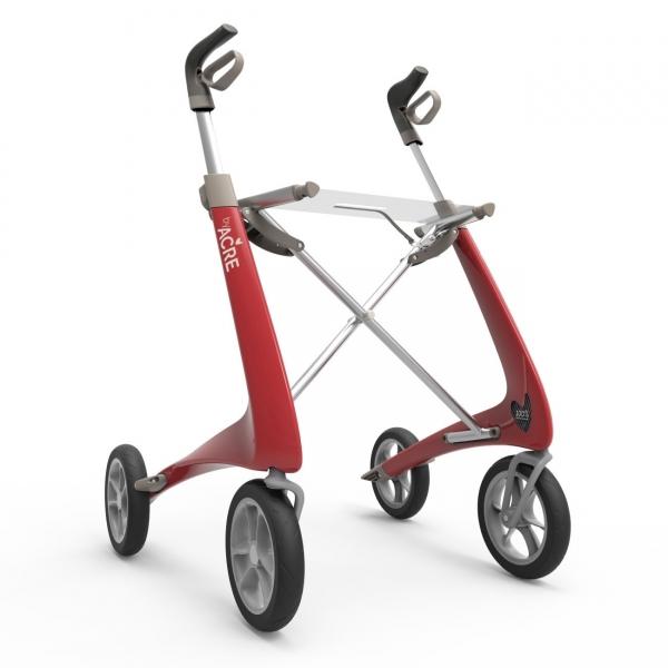 Carbon Rollator Ultraleicht Komfort mit Softrädern nur 4,9 kg
