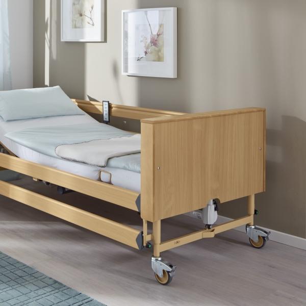 Holzverkleidung Fahrgestell für Pflegebetten der Dali Serie