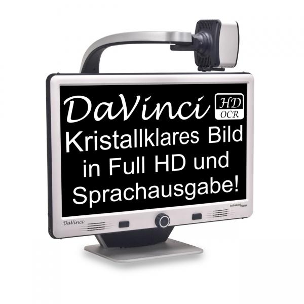 Bildschirmlesegerät mit Vorlesefunktion DaVinci Pro