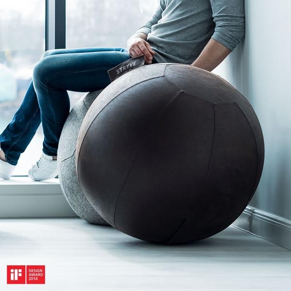 Stryve Active Ball - Gymnastikball mit Funktion und Designauszeichnung