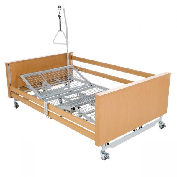 Schwerlast Pflegebett XL 220