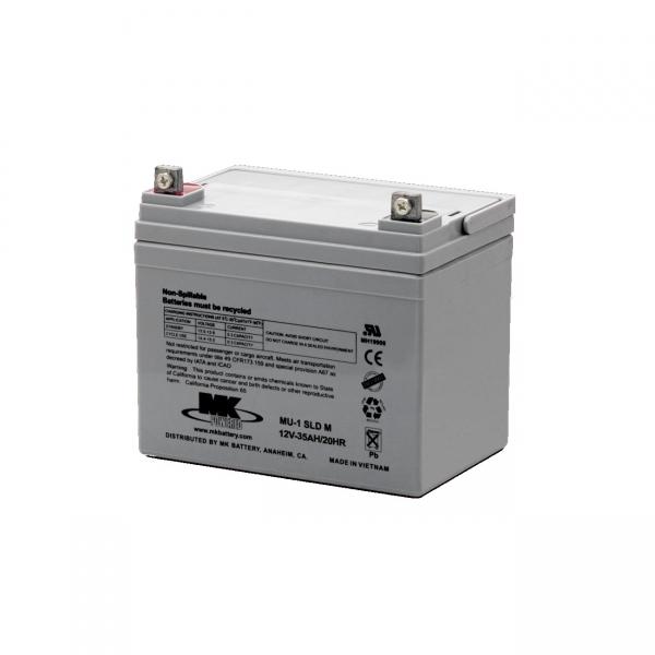 Akku AGM Batterie 12V / 35 Ah für Elektromobile E-Rollstühle