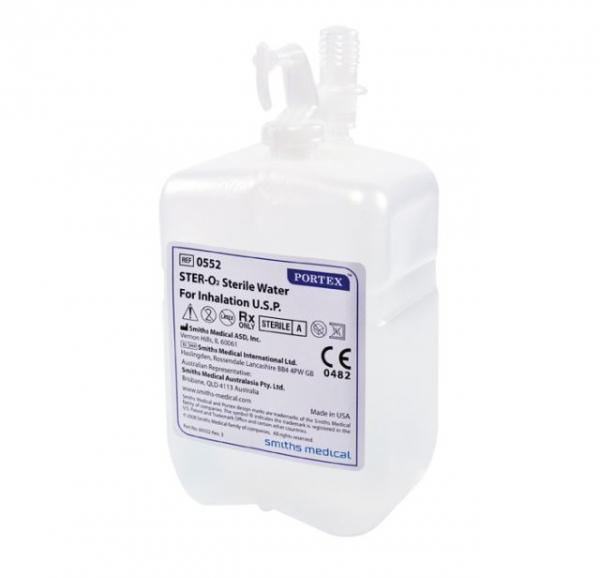 Sterilwassersystem 550ml (12 Stück)