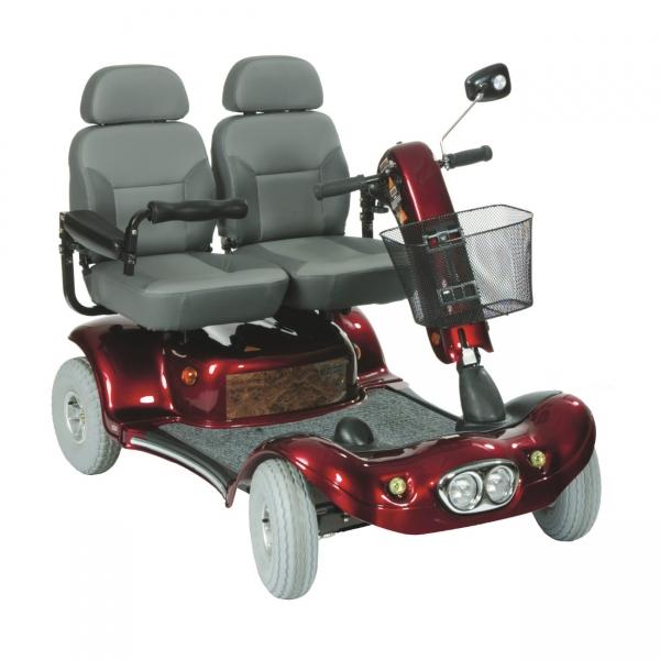 Elektromobil Double - 6 km/h Doppelsitzer - bis 180 kg