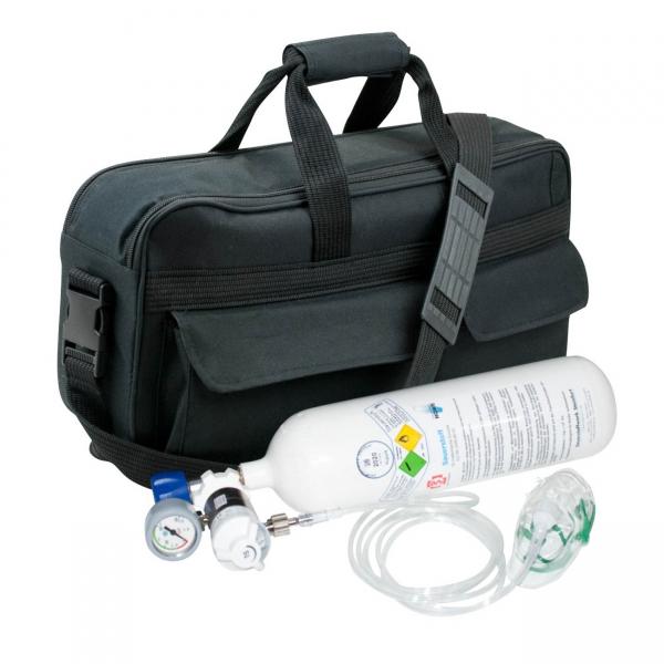 Tragbares Sauerstoffgerät 2.0 komplett mit Tasche