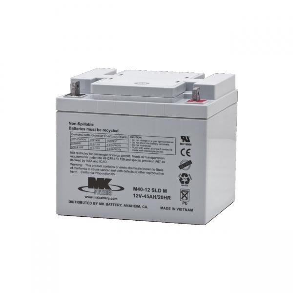 Akku AGM Batterie 12V / 45 Ah für Elektromobile E-Rollstühle