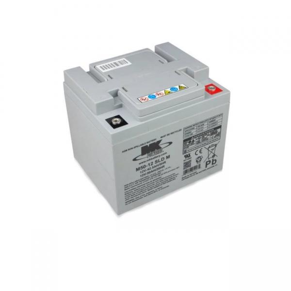 Akku AGM Batterie 12V / 50 Ah für Elektromobile E-Rollstühle