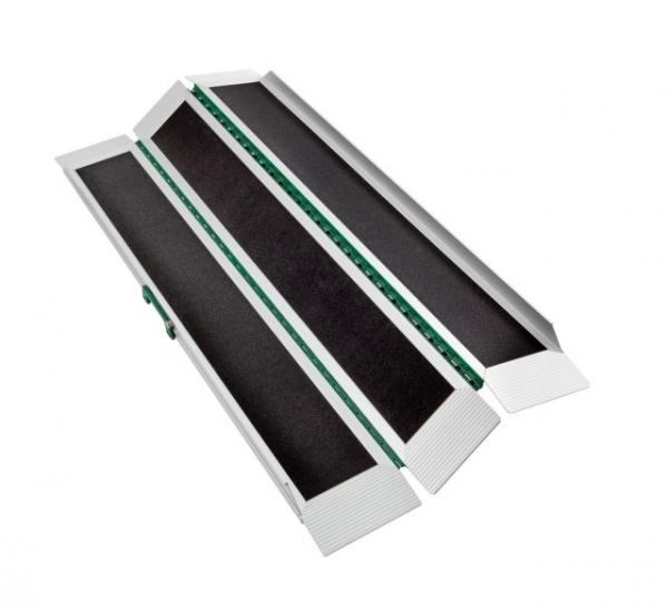 Kofferrampe dreifach faltbar, extrem klein und leicht