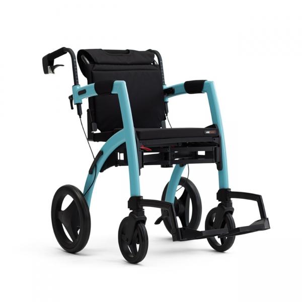 Rollz Motion² M faltbarer Rollator und Rollstuhl in einem