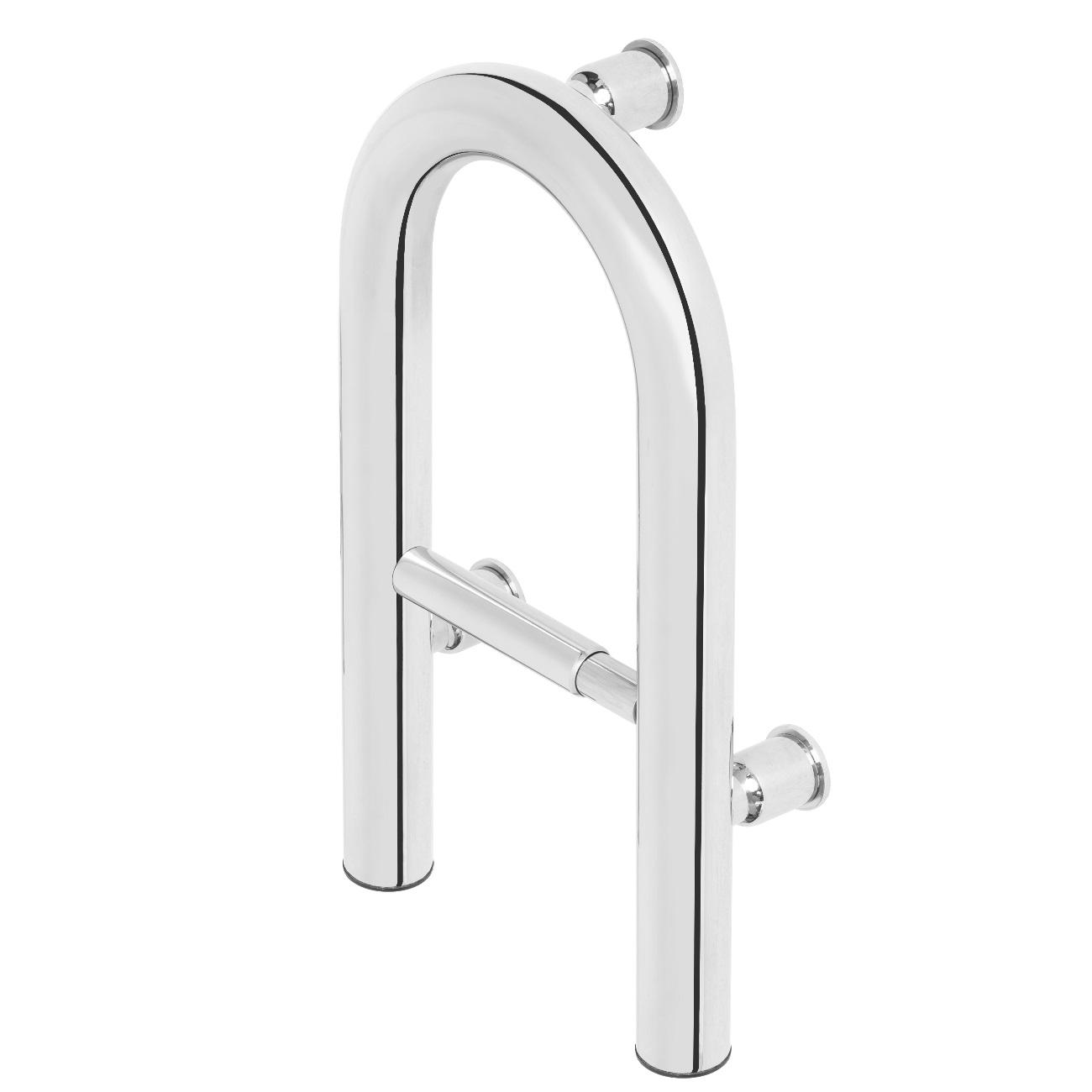 Badezimmer Haltegriff mit Toilettenpapierhalter - Seeger24.de Online ...