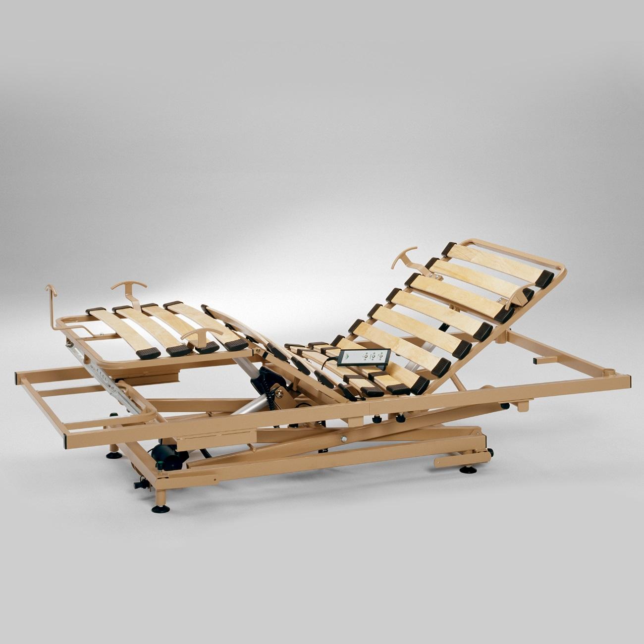 lattenrost h henverstellbar f r senioren u pflegebett online sanit tshaus. Black Bedroom Furniture Sets. Home Design Ideas