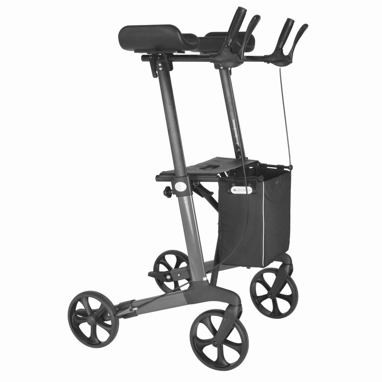 Faltbarer Rollator für Arthritispatienten oder Menschen mit geringen ...