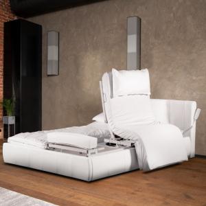 Dreh- Sitz- Aufstehbett Komfort Hebepflegerahmen