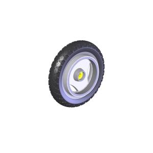 Wechselsatz Off-Road-Räder PUR für den Rollator TOPRO Troja 2G
