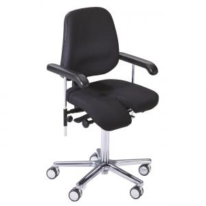 Arthrodesenstuhl mit geteilter Sitzfläche