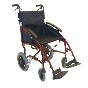 Transportrollstuhl XL Sitzbreite 50cm - Belastbarkeit 125 kg