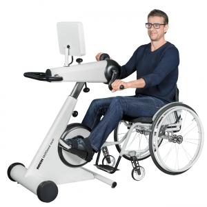 MOTOmed Muvi der Simultan-Bewegungstrainer für die Klinik