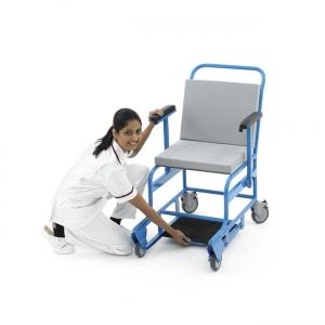 MRT Rollstuhl, antimagnetischer Transportrollstuhl bis 7 Tesla und 220 kg Personengewicht