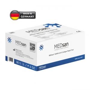 MEDsan® SARS-CoV-2 Antigen Rapid Test  (25 Stück)