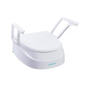 Toilettensitzerhöhung verstellbar, mit Armlehnen in neuem Design