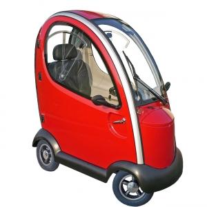 Elektromobil mit Kabine - 15 km/h